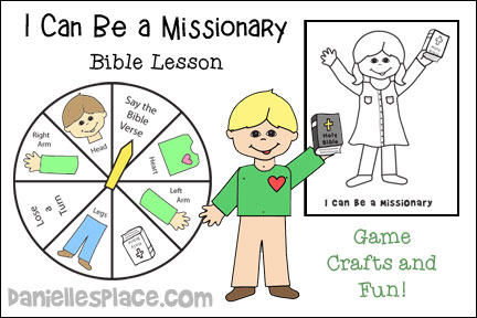 I Can Be a Missionary Bible Lesson