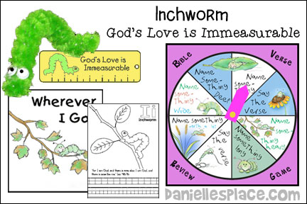 Inchworm Bible Lesson