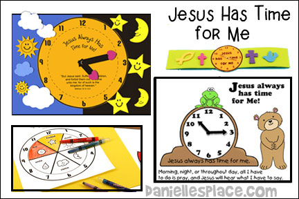 Jesus Has Time for Me Bible Lesson