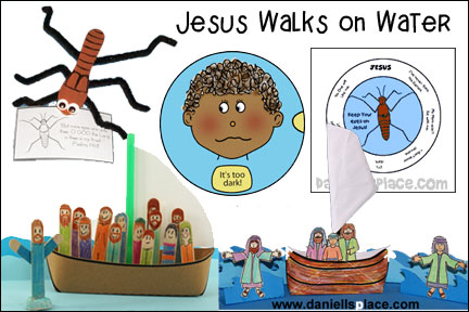 Jesus Walks on Water - Waterstrider
