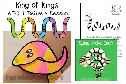 Kingsnake Bible Lesson - ABC, I Believe