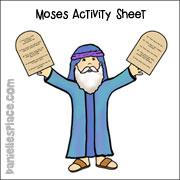 Moses Activity Sheet