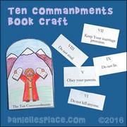 Ten Commandment Booklet