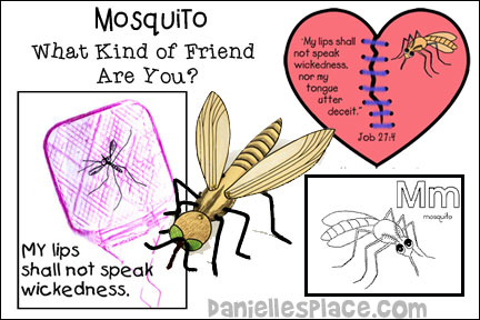 Mosquito ABC, I Believe Bible Lesson