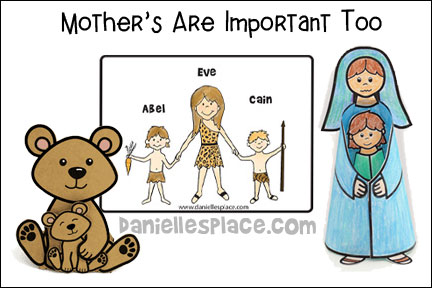 Mothers Are Important Too Bible Lesson