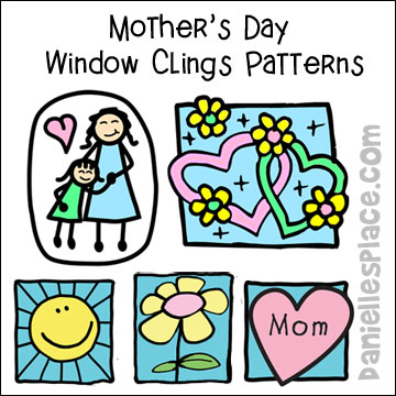 Mothers Day Window Cling