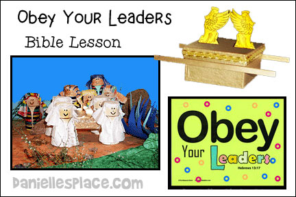Obey Your Leaders Bible Lesson