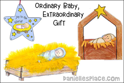 Ordinary Baby, Extraordinary Gift Bible Lesson
