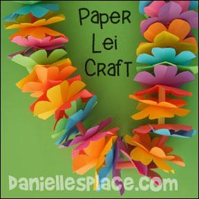Paper Lei Craft