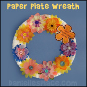 Creation Paper Plate Wreath