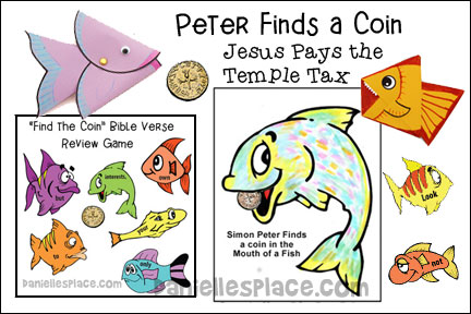 Peter Finds a Coin in a Fishes Mouth