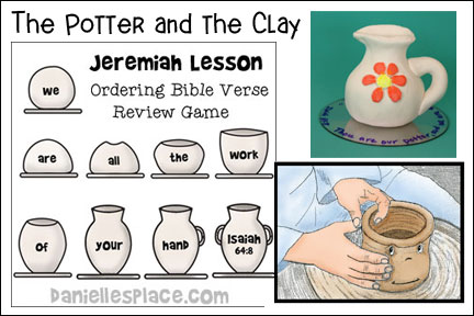 Jeremiah - Potter and the Clay Bible Lesson