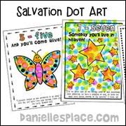 Salvation 123 Do-A-Dot Sheets