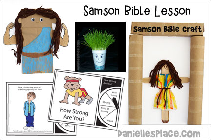 Samson Bible Lesson