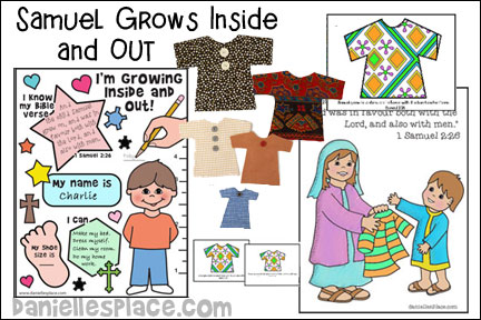 Samuel Grows Inside and Out Bible Lesson