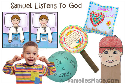 Samuel Listens to God Bible Lesson