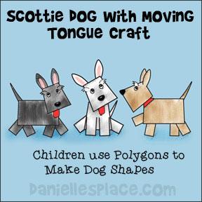 Scottie Dog Paper Craft