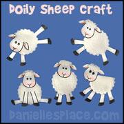 Doily Sheep