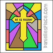 Colors of Easter Cross Craft