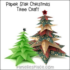 Paper Star Christmas Tree