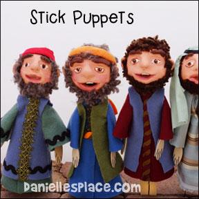 Stick Bible Puppets