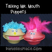 Talking Mr. Mouth Puppets