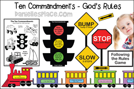 God's Rules - The Ten Commandments
