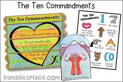 Ten Commandments Bible Lesson