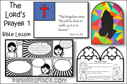 The Lord's Pray 1 BIble Lesson for Children