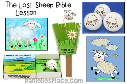 The Lost Sheep Bible Lesson