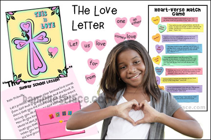 The Love Letter Bible Lesson
