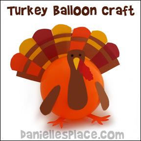 Balloon Turkey