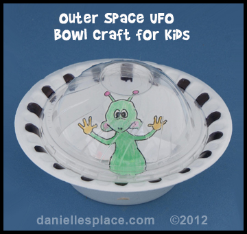 Outer Space Alien Pattern