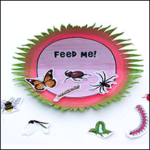 Venus Flytrap Arthropods Craft and Learning Activity