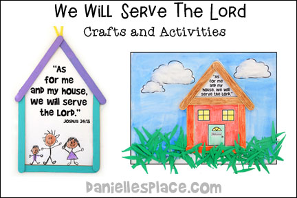 We Will Serve the Lord Bible Lesson