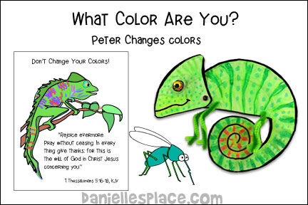 What Color Are You bible Lesson about Peter