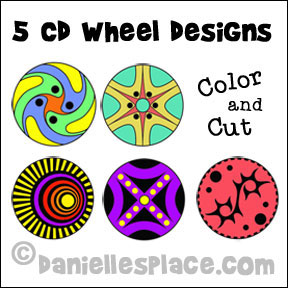 Five DC Wheel Designs