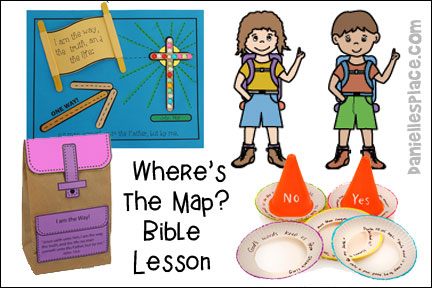 Where's the Map? Bible Lesson