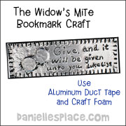 Windows Mite Bookmark Craft