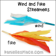 Wind and Fire Streamers