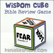 Wisdom Cube Bible Review Game