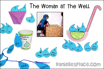 Woman at the Well Bible Lesson for Younger Children