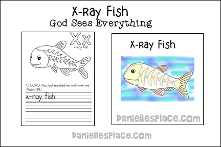 X-ray Fish Bible Lesson