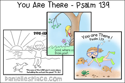 You ARe There - Psalm 139 Bible Lesson