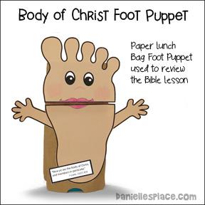Foot Puppet Craft
