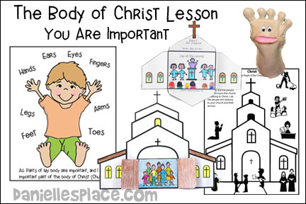 The Body of Christ - You Are Important Bible Lesson