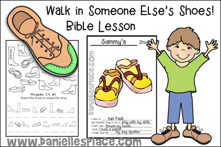 Walking In Someone Else's Shoes Bible Lesson