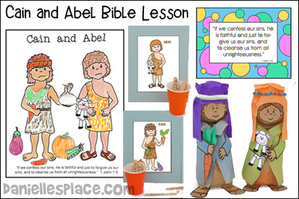 Cain and Abel Bible Lesson