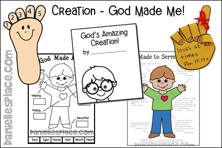 Creation- God Made Me Lessons