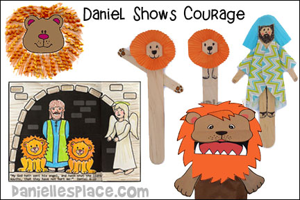 Daniel Shows Courage Bible Lesson
